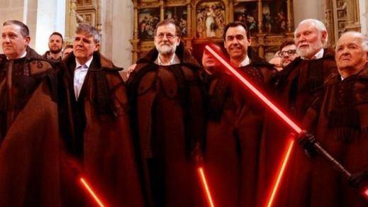 Twitter se llena de memes de Rajoy con su 'capa alistana' de Zamora