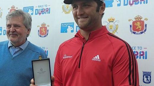 Jon Rahm logra una victoria espectacular en el Open de España de golf
