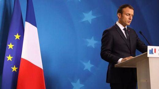 Macron defiende una identidad europea 'frente a los nacionalismos egoístas'