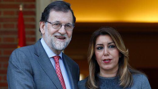 Rajoy promete a Andalucía y Aragón aprobar pronto el nuevo modelo de financiación autonómica