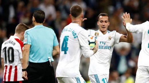 El Madrid apenas empata ante un defensivo Athletic (1-1) pero mantiene la tercera plaza