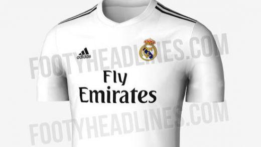 Real Madrid: confirmada la nueva camiseta para la próxima temporada 2018-2019