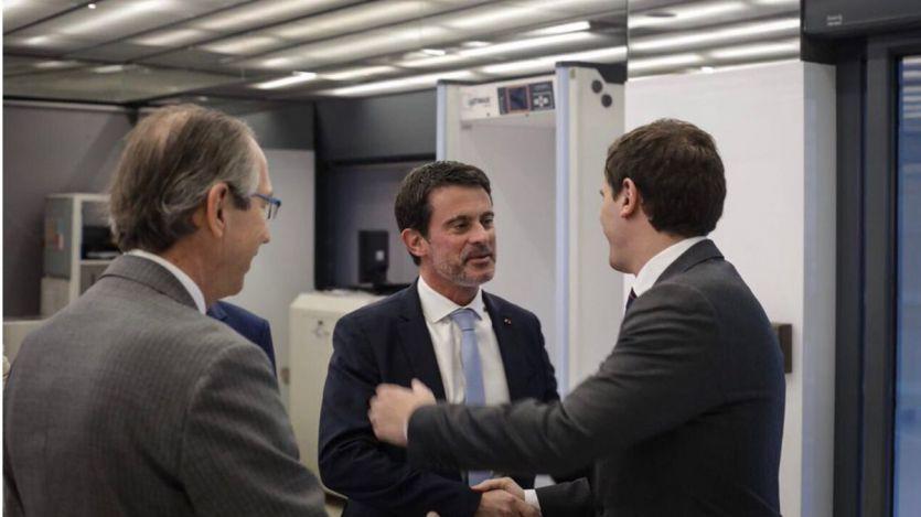 La 'sorpresa Manuel Valls': Rivera deja la puerta abierta a que sea candidato de Ciudadanos en Barcelona