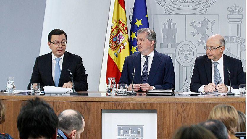El Gobierno ratifica la versión de Montoro: 'no se gastó un euro público en el 1-O'