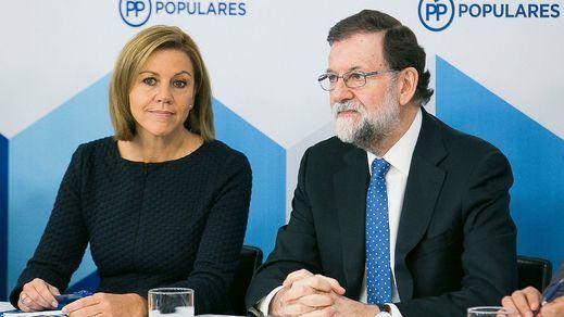 Mariano Rajoy preside la reunión del Comité Ejecutivo Nacional del PP