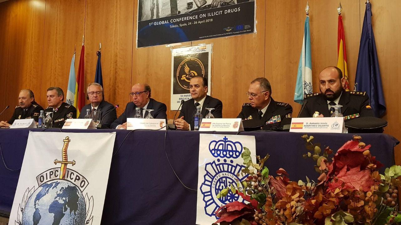 Arranca en toledo la 39 i conferencia mundial de interpol sobre drogas 39 diariocr - Ministerio del interior oposiciones ...