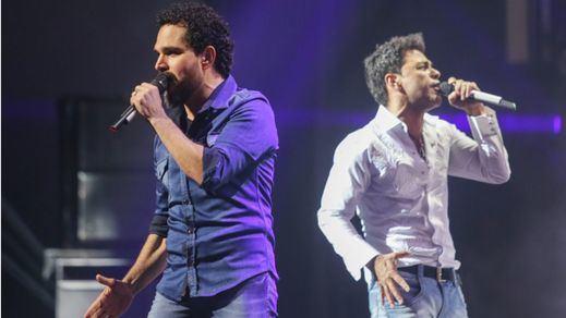 El mítico dúo Zezé di Carmargo & Luciano, los reyes musicales de Brasil, incluyen a España en su gira europea