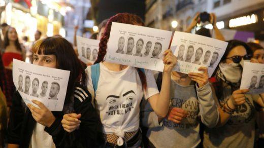 Oleada de protestas en todo el país contra la sentencia