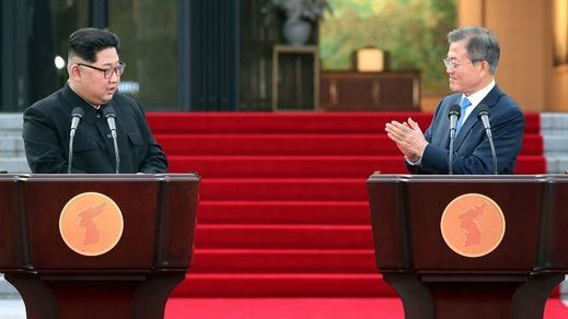Corea del Norte se compromete ante el Sur a desnuclearizar la península y establecer la paz permanente