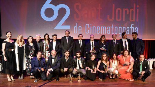 Gandes personajes del cine recogieron sus Premios Sant Jordi en su edición 62ª
