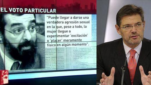 Catalá carga contra el juez que quiso absolver a 'La Manada'