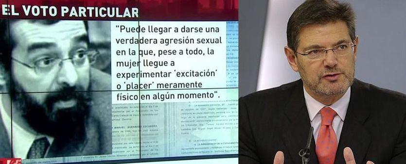 El ministro de Justicia carga contra el juez que quiso absolver a 'La Manada': desvela que tiene 'un problema'