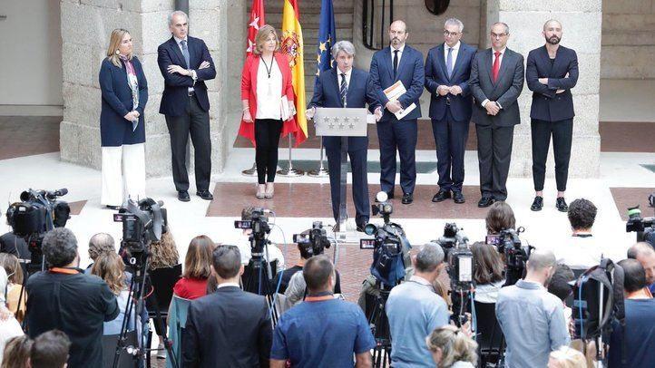 Madrid celebra su 'día grande'... en funciones