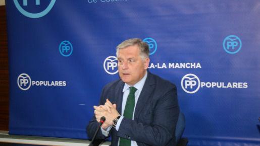 Portavoz del Grupo Popular en las Cortes de Castilla-La Mancha, Francisco Cañizares