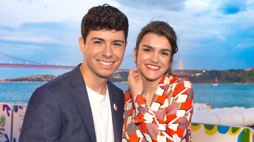 Amaia y Alfred brillan en la inauguración de Eurovisión 2018