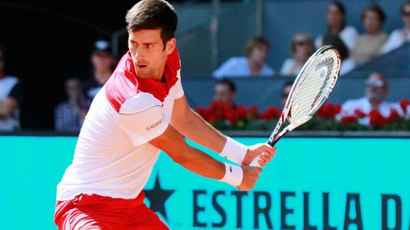 Open de Madrid: Djokovic sale por fin de su abismo y elimina a Nishikori (7-5, 6-4)