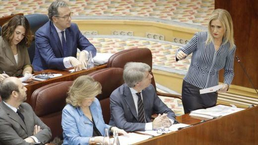 A la tercera, vencida: Cifuentes renuncia a su escaño en la Asamblea de Madrid