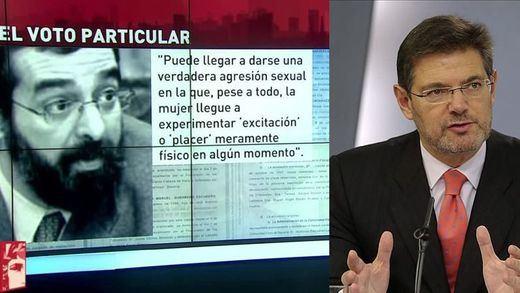 El polémico juez del voto particular de 'La Manada' es uno de los más expedientados de España