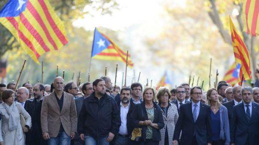 Los independentistas catalanes podrían ser también juzgados por conspiradores y sediciosos