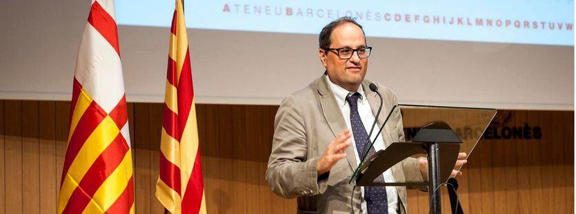 Diálogo y 'procés', las claves del discurso de investidura de Quim Torra