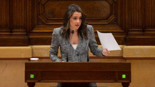 Arrimadas recuerda a Torra que será president 'gracias' al Gobierno de Rajoy
