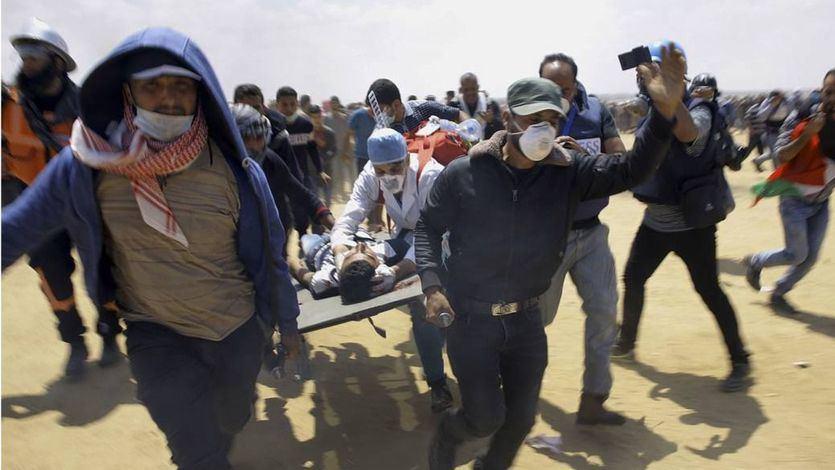 El balance de la masacre en Gaza: 59 muertos y más de 2.700 heridos a manos del ejército israelí