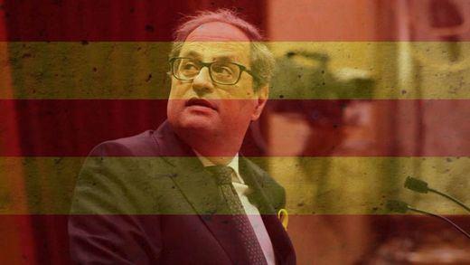 ¿Qué hay de cierto en que Quim Torra sería una especie de Hitler a la catalana?