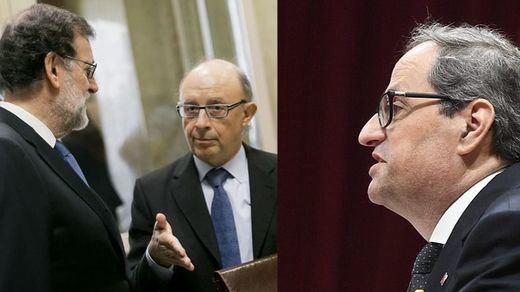 El Gobierno advierte a Torra: seguirá controlando las cuentas de la Generalitat