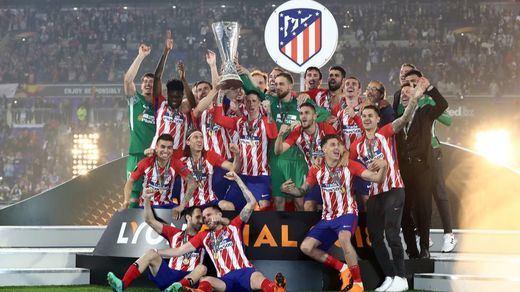 El Atleti gana la Europa League a lo grande, sin sufrir ni especular (3-0)