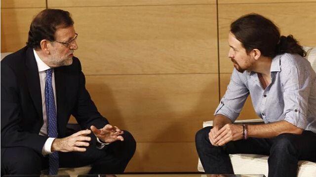 Rajoy e Iglesias se reunirán para hablar de Cataluña y Sánchez 'se apunta el tanto'