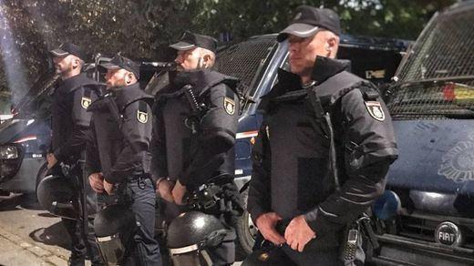 8 meses después, detenido un hombre por agredir a un policía en el referéndum catalán