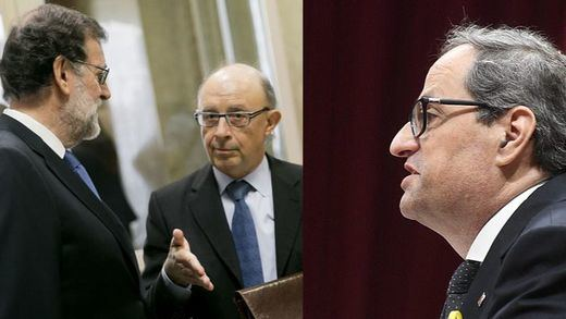 Torra envía una carta a Rajoy para volver a ofrecerle diálogo