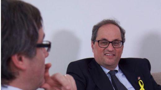 La ANC presiona a Torra para que Puigdemont sea investido