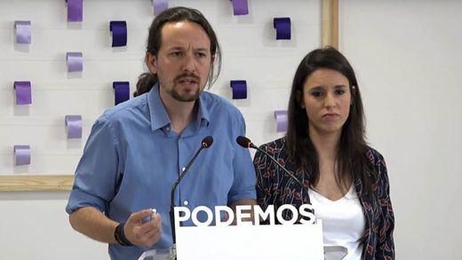 Iglesias y Montero rompen Podemos, donde la consulta a sus bases ha provocado indignación