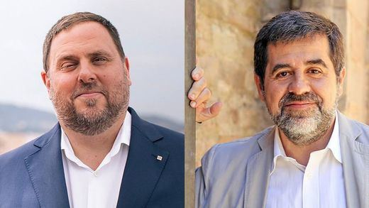 El Constitucional desoye las peticiones de Junqueras y Sànchez, que seguirán en prisión
