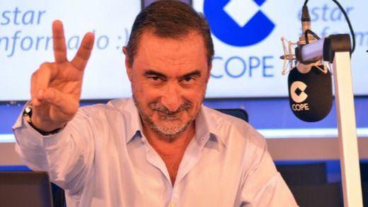 La 'romería' de Carlos Herrera al chalet de Iglesias y Montero que ha enfadado a Podemos