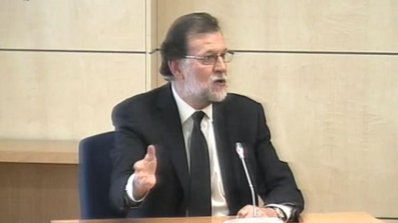 Rajoy mintió en el juicio del caso Gürtel