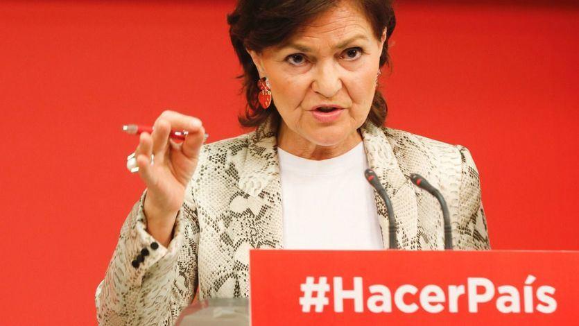 El PSOE: 'La moción es una propuesta por la dignidad y por la estabilidad que Rajoy ha desestabilizado'