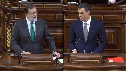 Así transcurrió la primera jornada del debate de la moción de censura a Rajoy