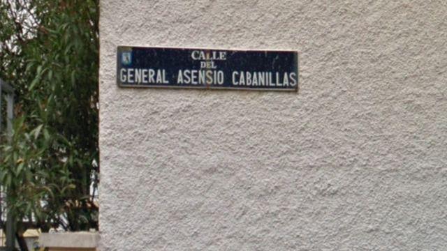 Calle General Asensio Cabanillas