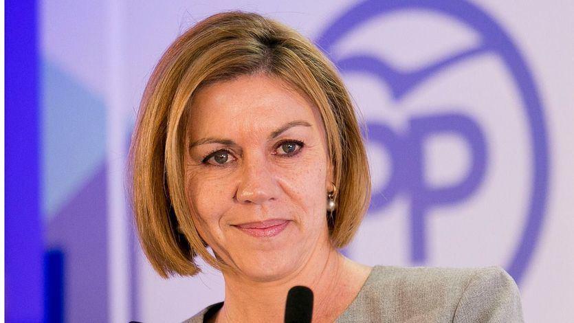 Cospedal zanja los rumores: Rajoy no dimite porque eso 'no garantiza que el PP siga en el Gobierno'