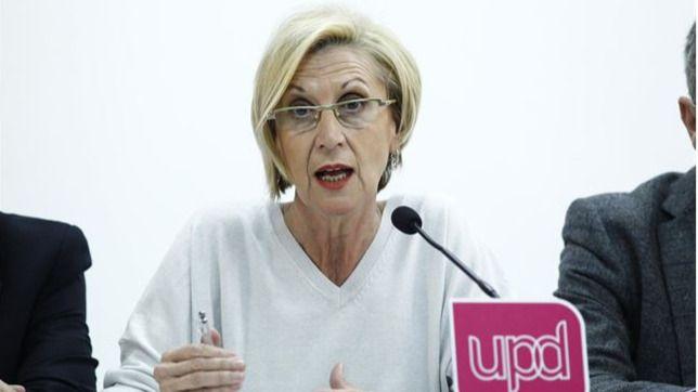 Rosa Díez incendia Twitter tras llamar a 'organizar la resistencia' contra Sánchez