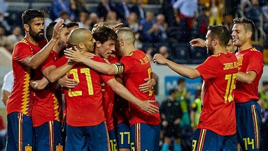 Dudas y nervios tras el empate de España ante Suiza antes del Mundial (1-1)