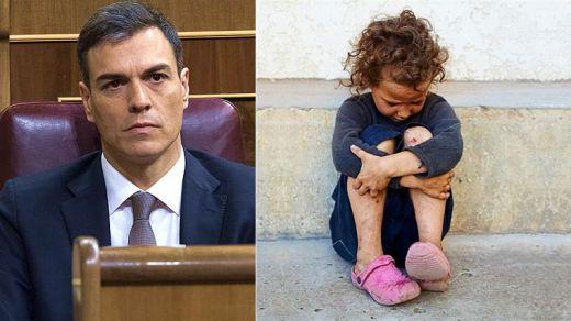 Sánchez se estrena con un gesto a los más débiles: crea el comisionado contra la pobreza infantil