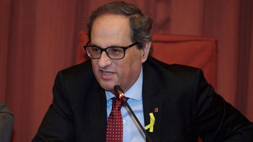 Torra dice que negociará con Sánchez partiendo de la declaración de independencia