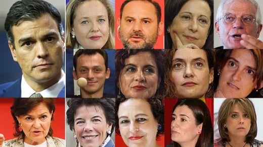 Quién es quién en el Gobierno de Sánchez: las reseñas biográficas de los ministros