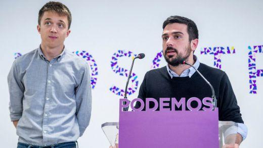 Errejón se revuelve contra la dirección de Podemos y da a sus candidatos para las primarias locales