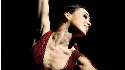 Olga Pericet en 'La espina que quiso ser flor o la flor que soñó con ser bailaora'
