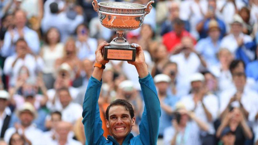 Rafa Nadal hace historia tras ganar 11 torneos de Roland Garros