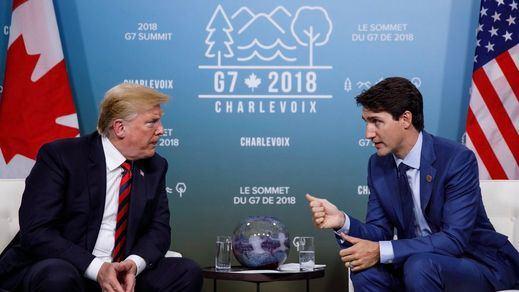 Trump, contra el mundo: enfada a todo el G-7 y reniega de su declaración final